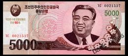 NORTH KOREA 5000 WON 2008(2013) COMMRMORATIVE Pick CS17 Unc - Korea, North
