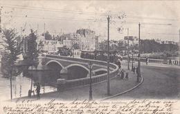 Amsterdam Nieuwe Amstelbrug # 1905 Trams Op Brug Weesperzijde Blasiusstraat   206 - Amsterdam