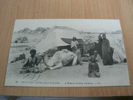 CP01/ EGYPTE SCENES ET TYPES FAMILLE DE BISHARINS / CARTE NEUVE - Autres