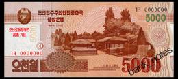 NORTH KOREA 5000 WON 2013 COMMRMORATIVE Pick CS19 Unc - Korea, North