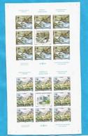2004 3204-05 NATURSCHUTZ PROTEKTION NATURA EUROPA JUGOSLAVIJA SERBIA SRBIJA MONTENEGRO RRR IMPERFORATE MNH SELTEN - Serbia