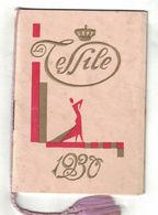CALENDARIETTO  LA TESSILE 1930 - Calendari