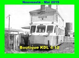 AL 573 - Autorail Billard A 75 D En Gare - SAULIEU - Côte D'Or - CFD Morvan - Saulieu