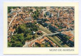 CP 40 MONT DE MARSAN VUE AERIENNE ... REF 230519 - Autres Communes