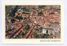 CP 40 MONT DE MARSAN LANDES VUE AERIENNE ... REF 230519 - France