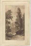 75 ( Paris ) - VIEUX PARIS - PARC 1880 - GARDELLA GRAVURE - Parks, Gardens