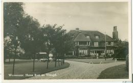 Wassenaar 1942; Huize Rust En Vreugd - Gelopen. (J. V.d. Hoek - Den Haag) - Netherlands