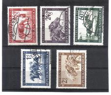 SOS773 ÖSTERREICH 1946  MICHL 785/89 Used / Gestempelt SIEHE ABBILDUNG - 1945-60 Gebraucht