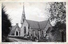 TRELEVERN , L'église Et Le Monument - France