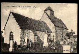 51 - CHICHEY (Marne) - L'Eglise - Environs De Sézanne - France