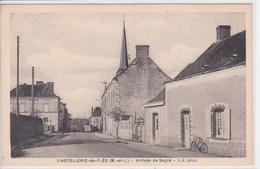 49 L HOTELLERIE De FLEE Arrivée De Segré - France