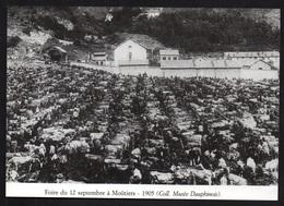 1987  --  FOIRE DU 12 SEPTEMBRE A MOUTIERS EN 1905   3R434 - Vieux Papiers