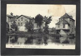 CPA Moulin à Eau Circulé Poitiers - Moulins à Eau