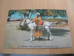 CP01/ EGYPTE SCENES TYPES ANIERS / CARTE NEUVE - Egypte