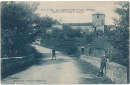 YVRAC - Entrée Du Bourg - Cachet Militaire Dépôt D'Artillerie Hippomobile N° 29 - Autres Communes