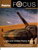 CA569 - PATRIA Focus - Corporate Magazine 2/2006, 15 Seiten, Englisch, Neuwertiger Zustand - Catalogues