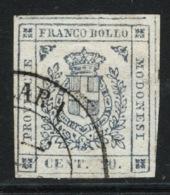 Modena Governo Provvisorio1859 Sass.15 Usato/Used VF/F - Modène