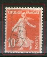 """N° 138°_cachet De Facteur """"4/3 - Marcophilie (Timbres Détachés)"""