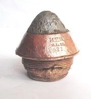 Fusée Percutante Allemande HZ 14  Obus  De 155  Ww1 1914-1918 German - 1914-18
