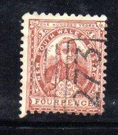 APR1193 - NEW SOUTH WALES GALLES 1888 , Yvert N. 61 Usato (dent 11x12 ?) - Usati