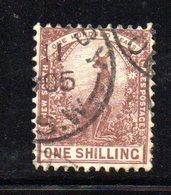APR1194 - NEW SOUTH WALES GALLES 1888 , Yvert N. 64 Usato . Fil NSW - Usati