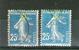 N° 140 IIIA _140 IIIB_retouché_5 Et 6 Traits Sur Visage_2 Scans - 1906-38 Semeuse Camée