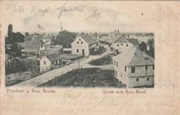 ***   Bosnie  ***  Gruss Aus BOS-BROD Pozdrav Iz Bos Broda - Stamped 1905 - Bosnie-Herzegovine