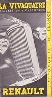 Renault- La Vivaquatre - Advertising
