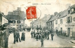 N°73000 -cpa Guidel -rue De Lorient- - Guidel