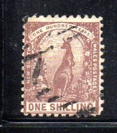 APR1196 - NEW SOUTH WALES GALLES 1888 , Yvert N. 64 Usato . Fil NSW INVERTED - Usati
