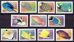 South Africa 2000 - Standard Set, Fishes, Perf 14,5x15 - Mi. 1285A-95A - Yvert 1127C-N.   MNH, Neuf, Postfrisch - Zuid-Afrika (1961-...)
