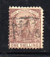 APR1197 - NEW SOUTH WALES GALLES 1888 , Yvert N. 64 Usato . Fil NSW INVERTED - Usati