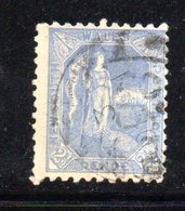 APR1200 - NEW SOUTH WALES GALLES 1891 , Yvert N. 73 Usato . Fil NSW  INVERTED - Usati