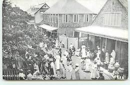 TRINIDAD - Market Square - Scarborough - Tobago - Trinidad