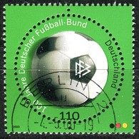 BRD - Mi 2091 - OO Gestempelt (H) - 110Pf    Fußballbund - Oblitérés