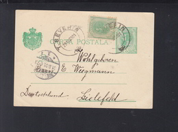 Romania Stationery Uprated Turnu Severin 1901 - Ganzsachen