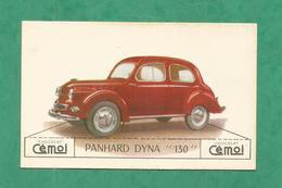 IMAGE CHOCOLAT CEMOI AUTO VOITURE VINTAGE WAGEN OLD CAR CARD PANHARD DINA 130 - Chocolat