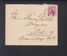Hungary Romania Letter Brasov Brasso To Berlin - Hungary