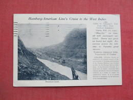 Private Mailing Card  1907 Cancel-  Panama Canal  - Hamburg American Line's Cruise To The West Indies    Ref 3375 - Panama