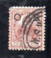APR1211 - NEW SOUTH WALES GALLES 1888 , Servizio Yvert N. 23 Usato . Fil NSW - 1850-1906 New South Wales