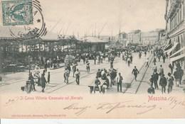 Il Corso Vittorio Emmanuel Col Mercato - Messina