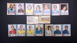 Lot De16 Vignettes Panini Mûnchen 74 Football Fifa World Cup - Sports