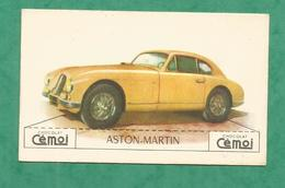 IMAGE CHOCOLAT CEMOI AUTO VOITURE VINTAGE WAGEN OLD CAR CARD ASTON MARTIN - Other