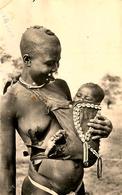 NU Ethnic - Ethno - Nord Cameroun Kamerun - Jeune Mère Femme Seins Nus - Nue Nude - Piercing - Cameroon
