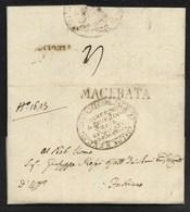 DA MACERATA A FABRIANO - 8.7.1831. - Italia