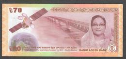BANGLADESH P65 70 TAKA 2018 UNC. - Bangladesh