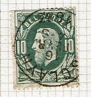 30  Obl  Sc Sclayn  + 8  Dent ! - 1869-1883 Leopold II