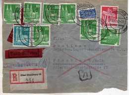 Germany - Hamburg CUT R - Letter 1950 - Unclassified