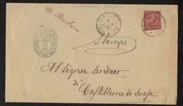 COLLETTORIA RURALE DELLE MARCHE - DA BARBARA A CASTELLEONE DI SUASA - 4.7.1891. - 1878-00 Umberto I