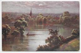 Stratford-on-Avon - The Avon - Tuck Oilette 7860 - Stratford Upon Avon
